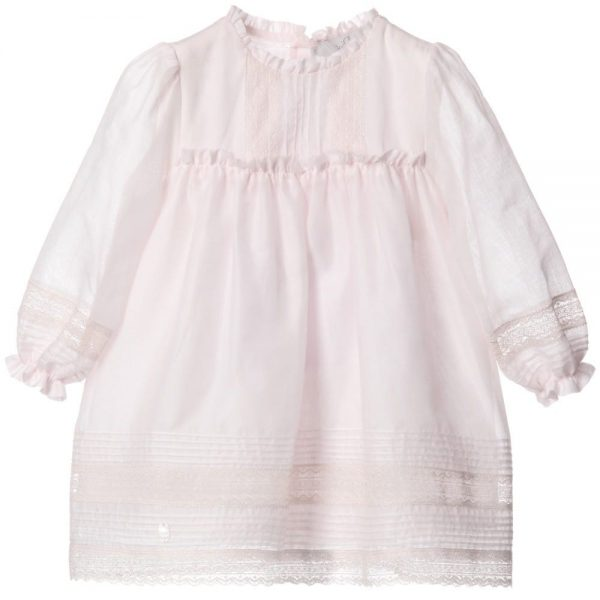 DIOR Pink Cotton & Lace Dress with Bloomers