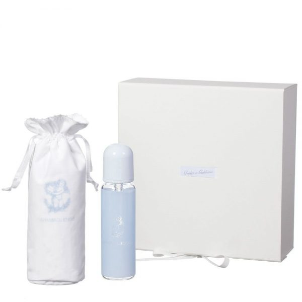 DOLCE & GABBANA Pale Blue Glass Bottle & Bag Gift Set