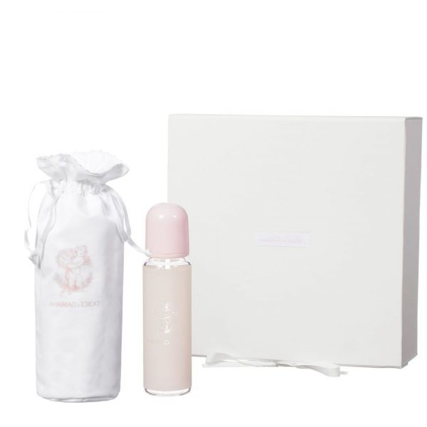 DOLCE & GABBANA Pale Pink Glass Bottle & Bag Gift Set