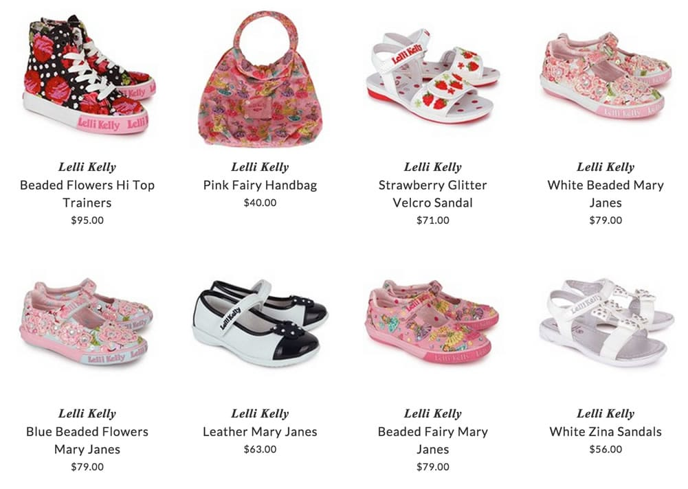 Lelli Kelly girls shoes