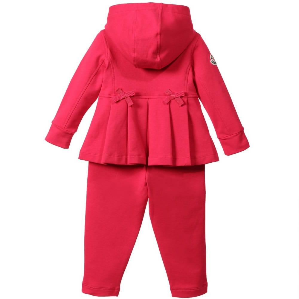 moncler baby red