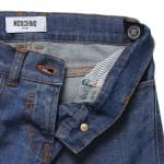 MOSCHINO KID-TEEN Boys Blue Jeans 'No Dinosaurs' Patch1