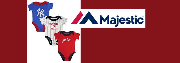 Majestic Athletic children& baby clothing