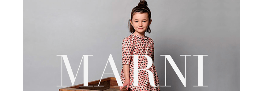 Marni children clothing & shoes