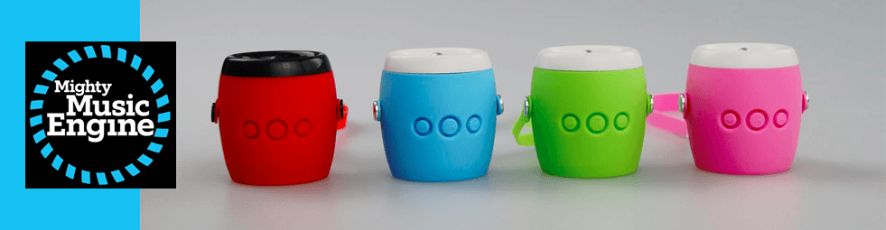 Mighty Music Engine portable speakers for kids