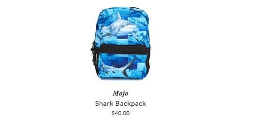 Mojo backpacks for children