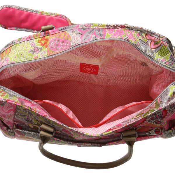 OILILY Pink Floral Print Baby Changing Bag (42cm) 3