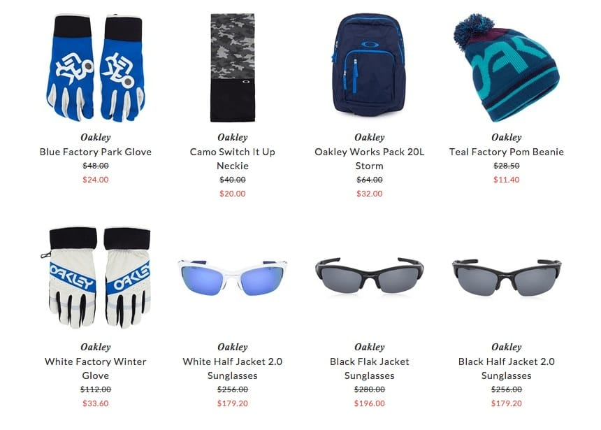 Oakley kids accessories & eyewear