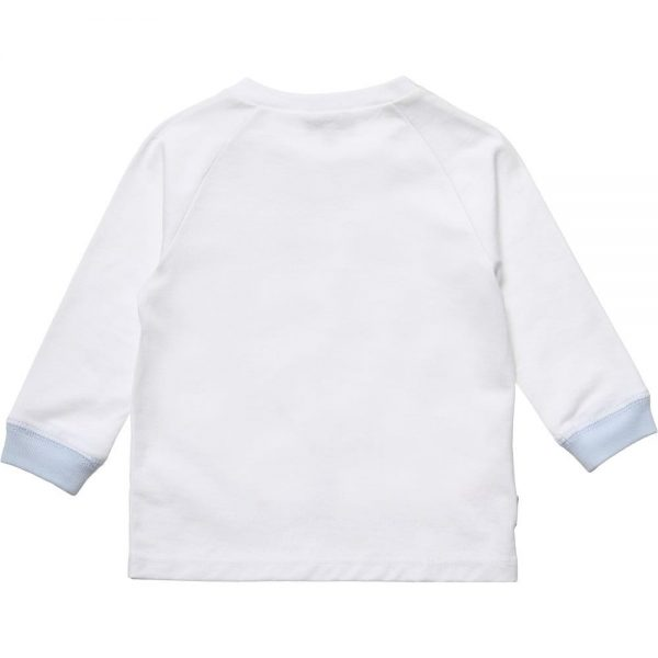 PAUL SMITH JUNIOR Baby Boys White & Striped 'Heloi' Outfit4