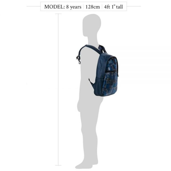 PAUL SMITH JUNIOR Boys Navy Blue Backpack Bag (31cm)3