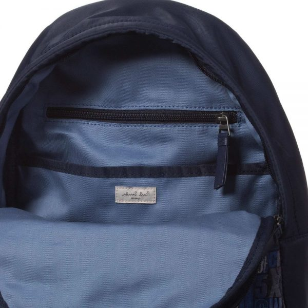 PAUL SMITH JUNIOR Boys Navy Blue Backpack Bag (31cm)4