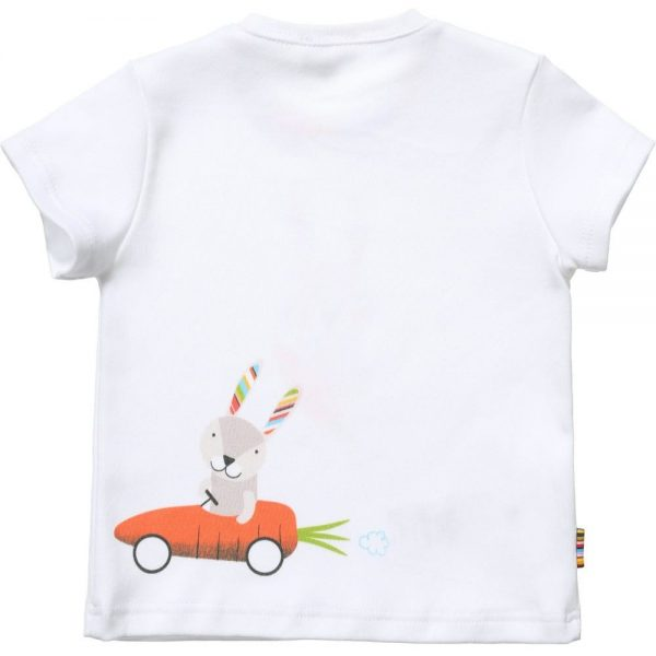 PAUL SMITH JUNIOR Unisex White Rabbit T-Shirt & Rattle Gift Set3