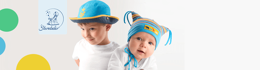 Sterntaler hats for children