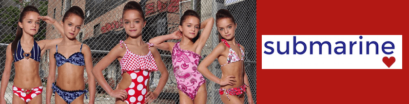 Submarine children swimwear