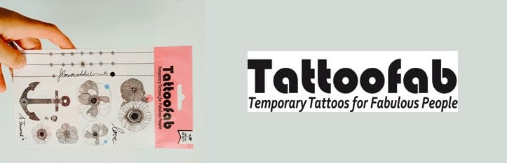 Tattoofab temporary tattoos for kids