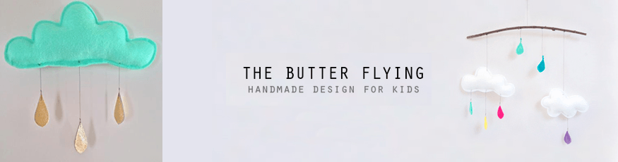 The Butter Flying baby room accessories