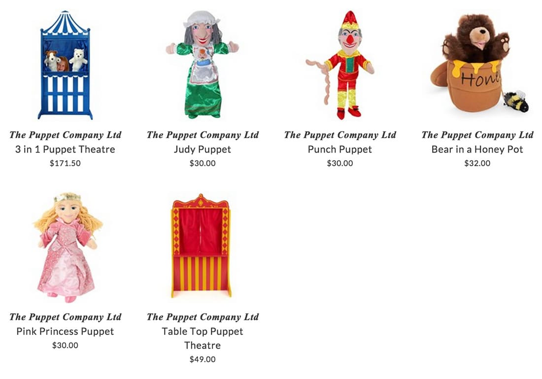 The Puppet Company Ltd. children toys
