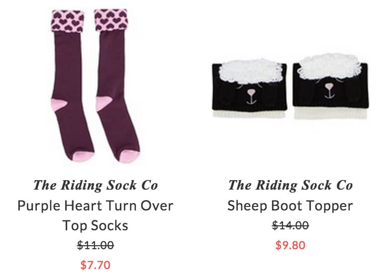 The Riding Sock Co kids tights & socks