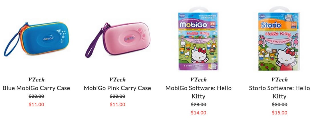 VTech electronic accessories for children