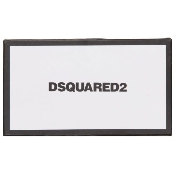 DSQUARED2 Boys Black Silk Bow Tie 2