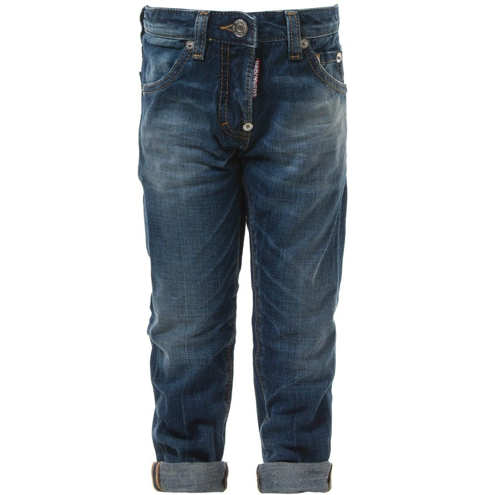 7413d620 DSQUARED2 Boys 'Cool Guy' Tapered Fit Jeans - Children Boutique