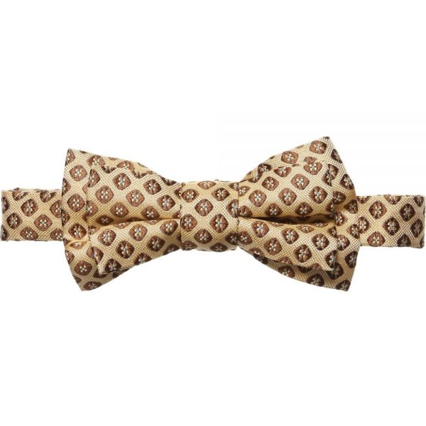 DSQUARED2 Boys Yellow Silk Bow Tie