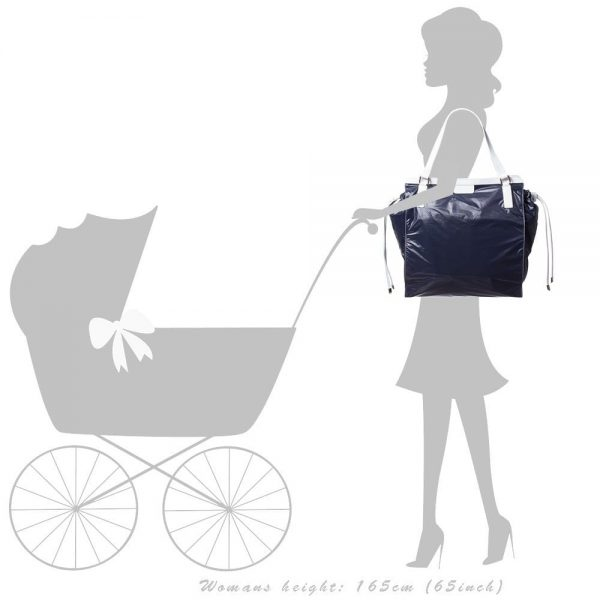 FAY Navy Blue Baby Changing Bag (41cm) 4