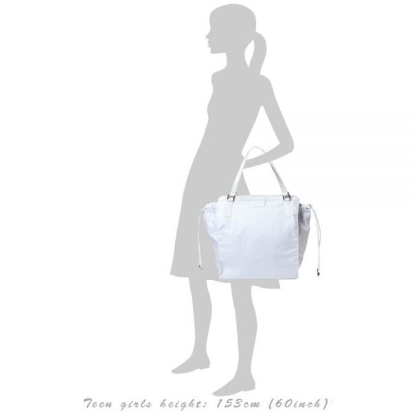 FAY White Baby Changing Bag (41cm) 1