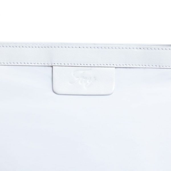 FAY White Baby Changing Bag (41cm) 2