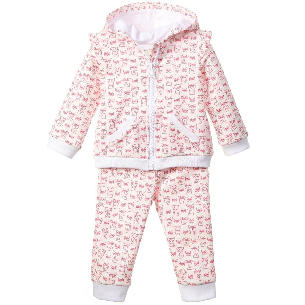 014b2f2a580ae FENDI Baby Girls Pink  FF Monster  Lightweight Jacket · Jackets short.  Quickview. Quickview
