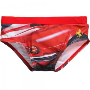 Ferrari Red Car Photo Print Swim Trunks