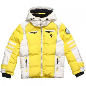 Ferrari Yellow Down Padded Jacket