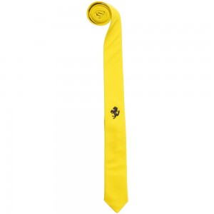 Ferrari Yellow Tie with Blue Prancing Stallion (96cm)