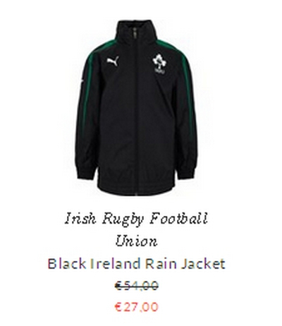 Irish Rugby Football