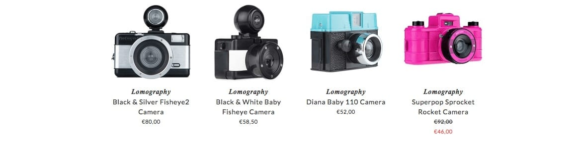 LOMOGRAPHY kids photocameras