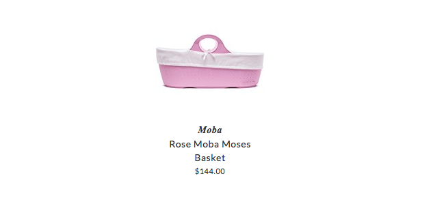 Moba baskets for babies
