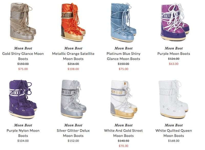 Moon Boot children snow boots