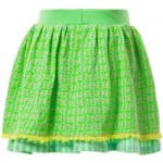 OILILY Green Patterned 'Tuca' Skirt 1