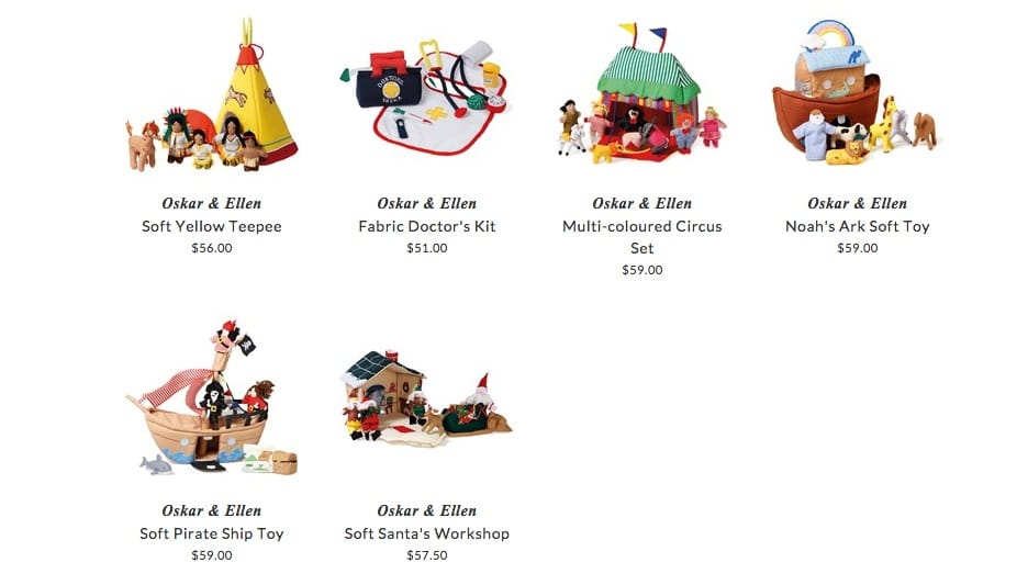 Oskar & Ellen children toys