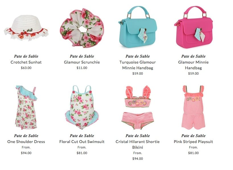 Pate de Sable children beach clothing & accessories