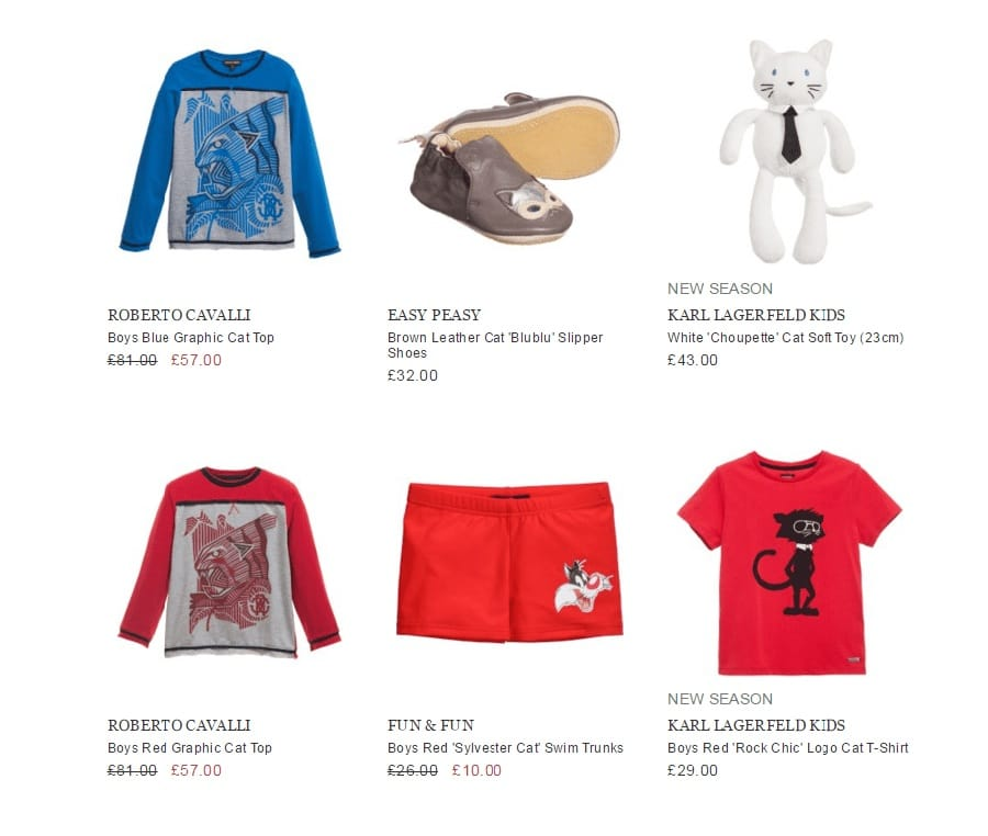 WILD CATS BOYS DESIGNERS OUTFIT