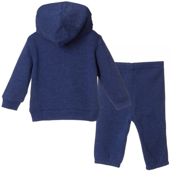 Ralph Lauren Baby Boys Blue Hooded Tracksuit1