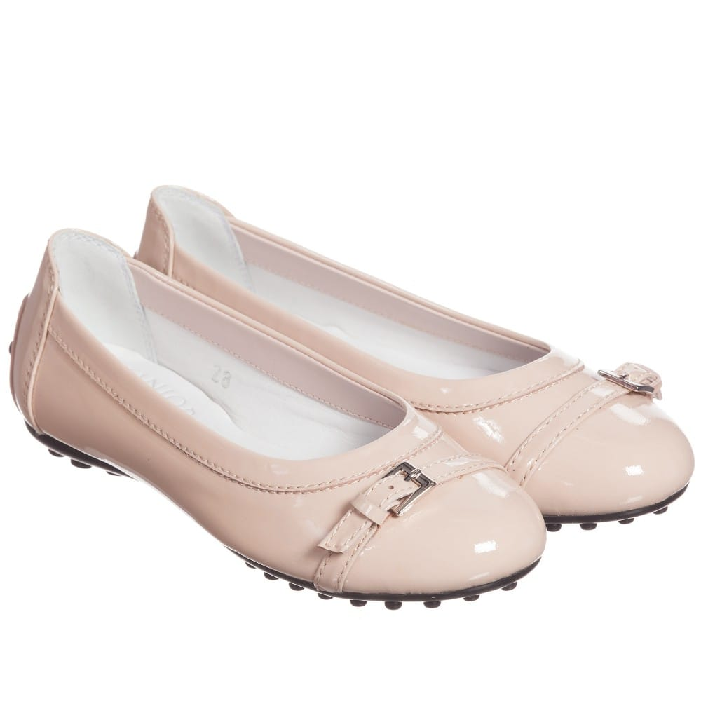 Pale Pink Patent Leather Pumps