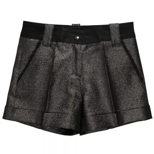 Richmond JR Girls Gold Shorts