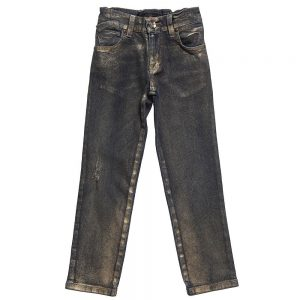 Richmond JR Girls Metallic Finish Jeans