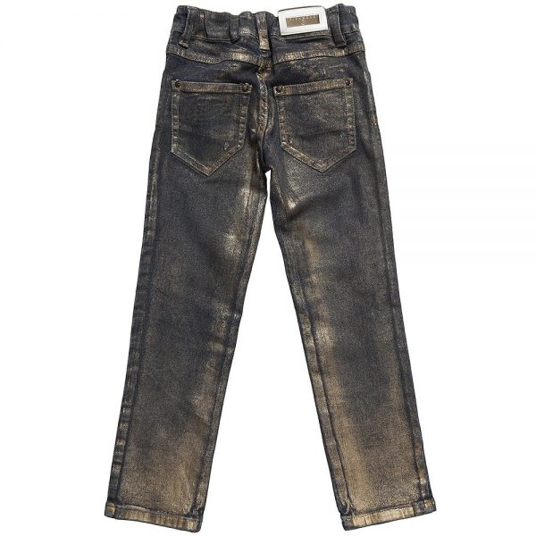 Richmond JR Girls Metallic Finish Jeans3
