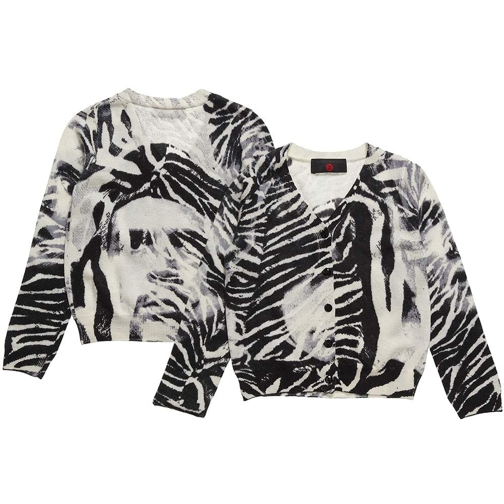 Richmond JR Girls Zebra Cardigan