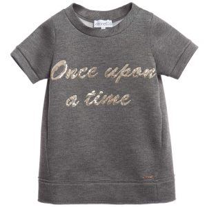 Simonetta Grey 'Once Upon A Time' Jersey Dress