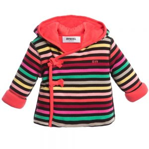 Sonia Rykiel Enfant Baby Girls Signature Stripe Padded Jacket