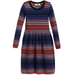 Sonia Rykiel Enfant Fine Knit Signature Stripe Dress